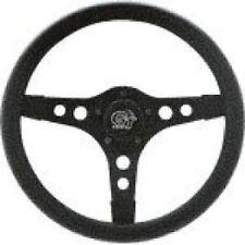 "VW Bug, Ghia Steering Wheel 13"" 3-1/2 Dish 3 Spoke Black Foam Grip 79-4030"