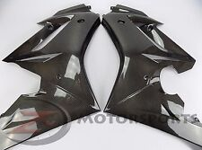 2009-2012 Daytona 675 R Front Large Side Mid Panel Cowling Fairing Carbon Fiber