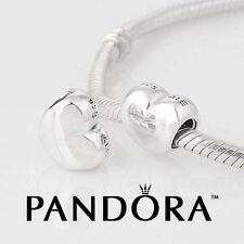 Pandora Big Smooth Puffy Heart Charm, ALE 925 Silver Bead 790137 Sterling Silver