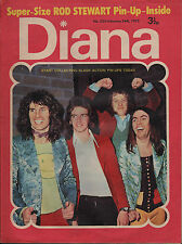Diana Magazine No. 523 24 February 1973  Slade  Rod Stewart  Donovan John Pantry