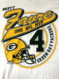 NFL MVP 1995 Brett Favre Green Bay Packers T-Shirt *NEW WITH TAGS* Starter