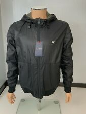 Armani Mens Reversible Jacket, Coat, Size Medium, Large, Black, New, Bnwt C6B68
