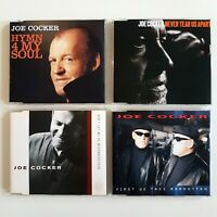 JOE COCKER ♦ Lot 4 x CD-MAXI ♦ inc. PROMO, FIRST WE TAKE MANHATTAN