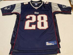 Corey Dillon New England Patriots Reebok NFL Equipment Jersey Size Men Large #28