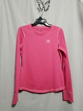 A&F Active Pink Athletic Top W/Thumb Holes - Sz L - Used Condition