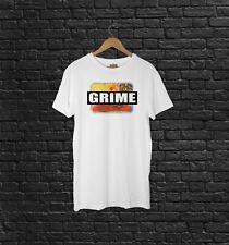 """GRIME"" Serial Killer Vintage Inspired T Shirt New Viral Punk Dubstep S -- XXXL"