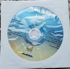 LEGENDS KARAOKE CDG ETTA JAMES,ELLA FITZGERALD & FRIENDS JAZZ #201  - 16 SONGS