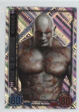 2016 Topps Hero Attax Marvel Cinematic Universe European Drax the Destroyer 1i3