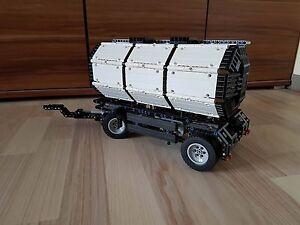 Bauanleitung instruction Tanker Anhänger Tank Eigenbau Unikat Moc Lego Technic