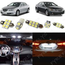 15x White LED Interior Lights Package Kit for 2004-2008 Acura TL +Tool AT1W