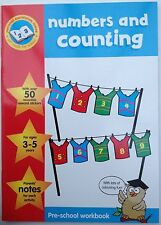 Pre-school workbook Numbers and Counting for ages 3-5 years