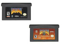 Doom 1 Doom 2 For Nintendo Video Game Boy Advance GBA Consoles Video Games Cards