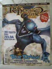 Magazine Role Playing Game n°4 sept/oct 2007 comme neuf ZELDA CHRONO TRIGGER ETC
