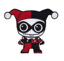 """Harley Quinn Doll Iron On Patch 3"""" x 1"""" P-DC-0125 Free Shipping Licensed by C&D"""