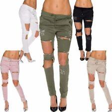 Pantaloni da donna chini cotone , Taglia 36