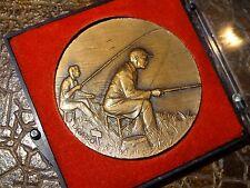 Médaille en bronze Drago pêcheur région de Ham somme