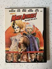 Mars Attacks! (1996, Dvd Disc, Snapcase) Jack Nicholson, Tim Burton, Glenn Close