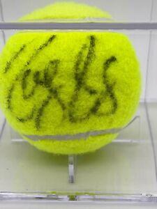 "Roger Federer ""Tennis Legend"" Original Hand Signed Autographed Tennis Ball"