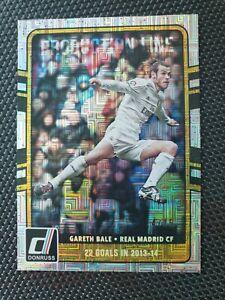 Gareth Bale 2016-2017 Donruss Soccer Production Line Mosaic #14/15 Real Madrid