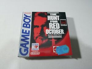 The Hunt For Red October Nintendo Game Boy Neuf Sous Blister