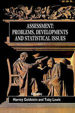 Assessment: Problems, Developments and Statistical Issues by Goldstein, Robin,