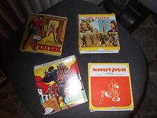Lotto 4 pellicole AVO Film super 8 Zorro, Western Cina Rovente Mickey's anni 70