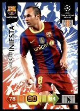 Panini Adrenalyn XL Champions League 2010/2011 FC Barcelona Andres Iniesta