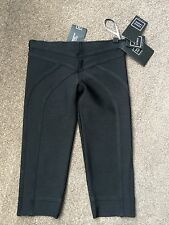 AUTHENTIC HERVE LEGER BANDAGE CROPPED LEGGINGS SZ XS NEW WITH TAGS