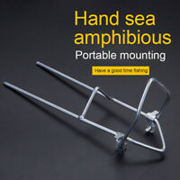 Stainless Steel Thicken Fishing Rod Rest Holder Support Ground Stand Cosy