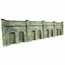 Metcalfe PN144 Stone Retaining Wall Die Cut Card Kit N Gauge New