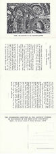 THE CEMETERY OF THE CAPUCHIN FATHERS ROME ITALY UNUSED DOUBLE POSTCARD