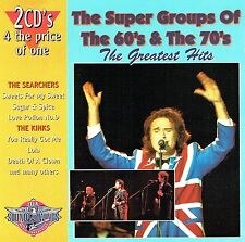 (2CD's) The Searchers / The Kinks - The Super Groups Of The 60's & The 70's...