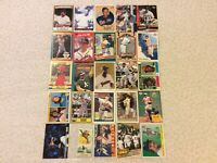 HALL OF FAME Baseball Card Lot 1974-2020 BROOKS ROBINSON LOU BROCK MICKEY MANTLE
