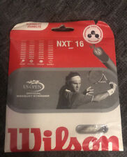 Wilson NXT 16 String Natural TENNIS STRING WRZ9238 NEW
