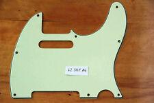 60/62 tele ® vintage replacement 3 ply pickguard Mint Green 3 capas Telecaster!