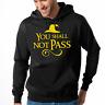 You Shall Not Pass Nerd Gamer Geek Sprüche Fun Kapuzenpullover Hoodie Sweater