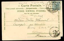 Austria Levant Imperio Otomano oficinas de correos Haifa PMK Gruss aus PPC 1905