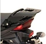 Porte paquet Support top-case sw motech Suzuki GSF 600 650 1200 1250 BANDIT Noir