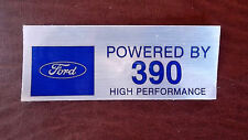 Ford 390 Valve Cover Decals