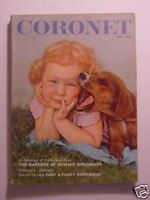 CORONET June 1961 BOWSLEY CROWTHER RALPH BASS New York Coed Little Schoolhouse +