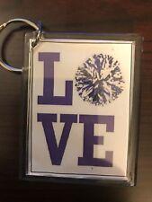 Cheerleading Keychain with Love (3)