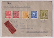 Gemeinsch.Ausg. Mi.937 u.a., Wertbf. M.Gladbach, 5.1.48