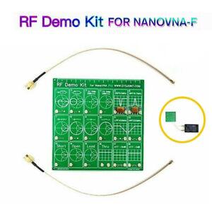 RF Demo Kit For Vector Network NanoVNA RF Analyzer Attenuator Filter Test Board