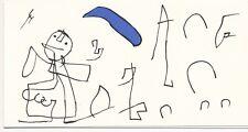 Joan Miró Lithographie originale Fondation Maeght 1986
