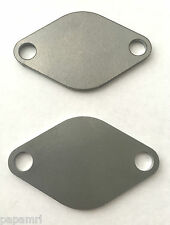 VW EGR BLANKING PLATE ^PAIR^ 1.2 1.4 1.9 2.0 TDI LUPO BORA POLO GOLF T4 T5 CADDY