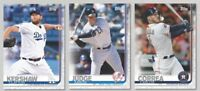 Pre-Sell 2019 Topps Series 1 Baseball Cards Base Team Set Pick From List