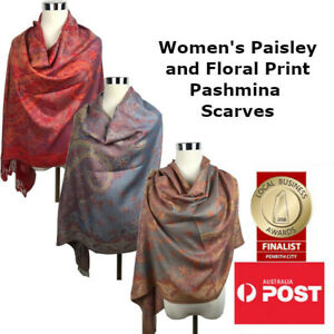 Women's Paisley and Floral Pattern Pashmina Scarf/Shawl Party Wedding Print Wrap