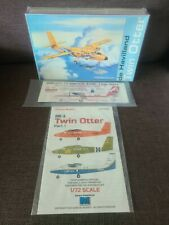 TWIN OTTER de Havilland MODELCRAFT KIT.SEALED. plus 2 decals.. included caracal