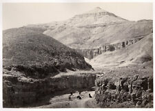 c.1857  PHOTO EGYPT FRITH VALLEY OF THE TOMBS OF THE KINGS