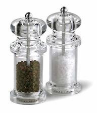 Cole & Mason Salt & Pepper Mill Gift Set Precision Superior Grinding 505 Acrylic